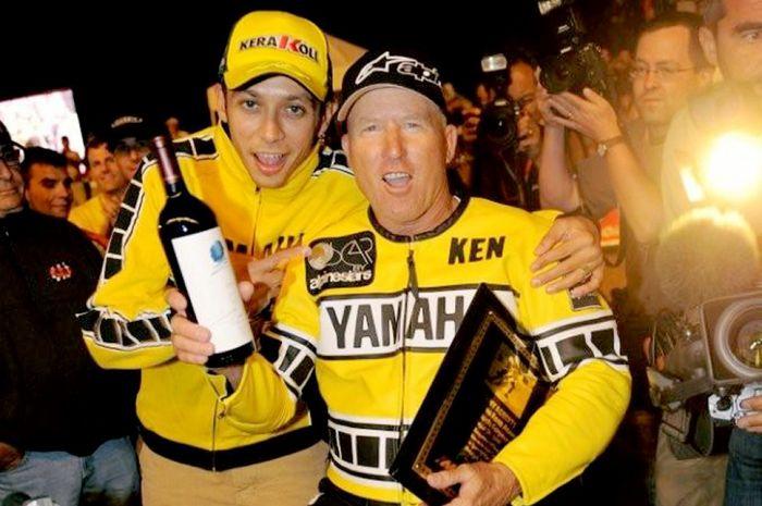 King Keny dan Valentino Rossi berteman baik