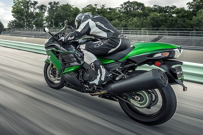 Kawasaki Ninja ZX-14R punya topspeed lebih dari 300 km/jam