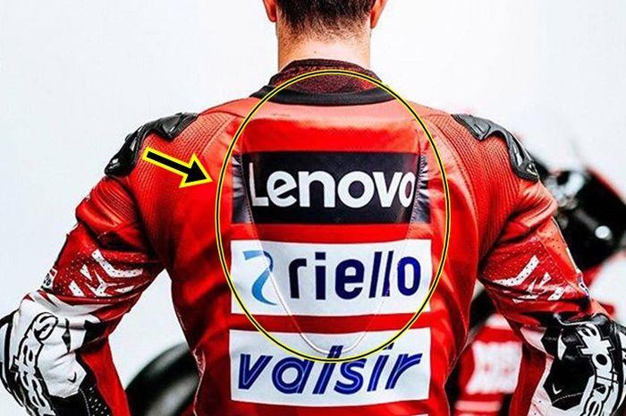 Wearpack Alpinestars GP Tech milik Andrea Dovizioso punya punuk khusus