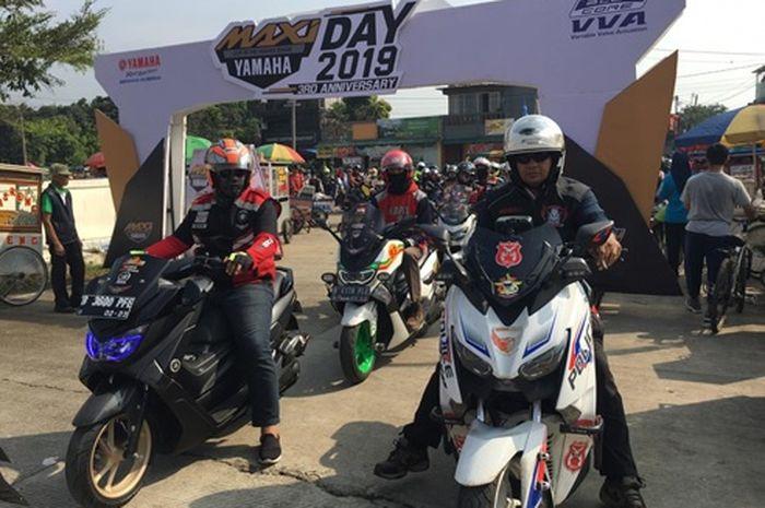Para bikers Maxi series Yamaha datang ke Maxi Day 2019