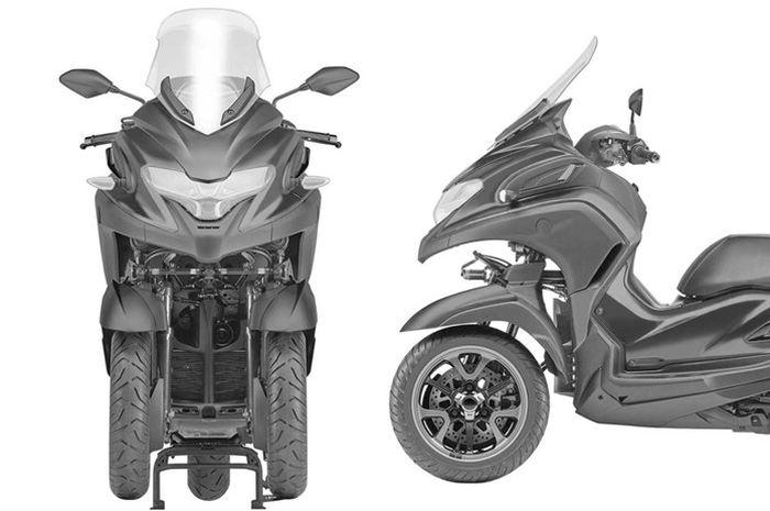 Gambar paten Yamaha 3CT
