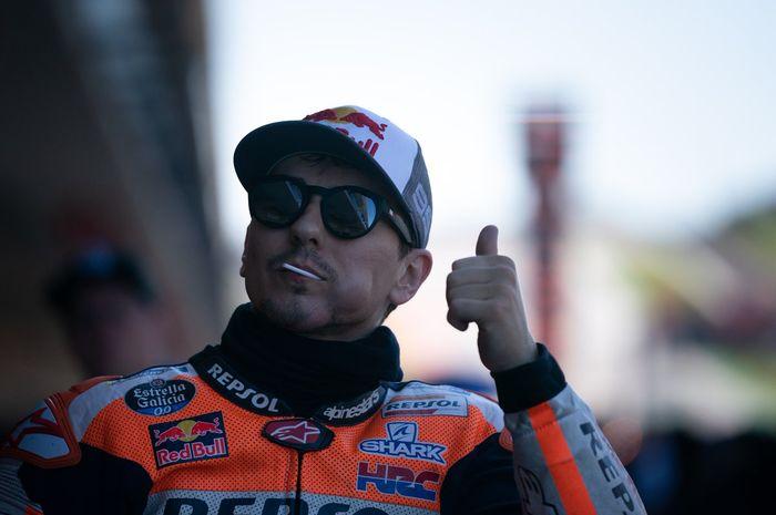 Jorge Lorenzo catat 3 kali juara di Jerez dan namanya diabadikan di tikungan akhir sirkuit Jerez atau tikungan 13