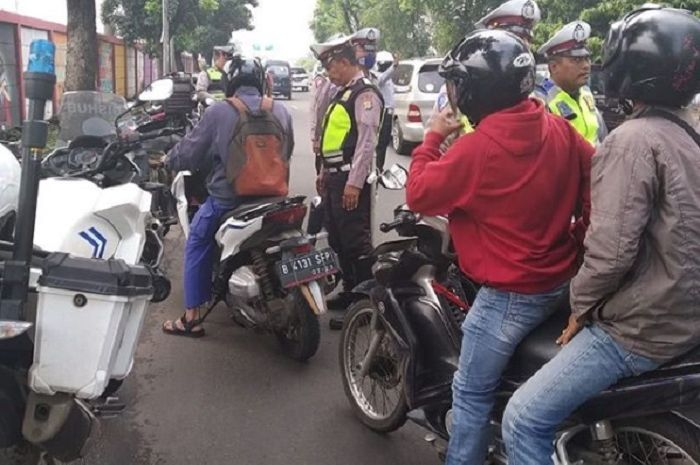 Polisi gelar razia gabungan resmi.