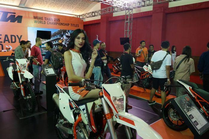 Motor KTM Enduro sudah menggunakan transport mode