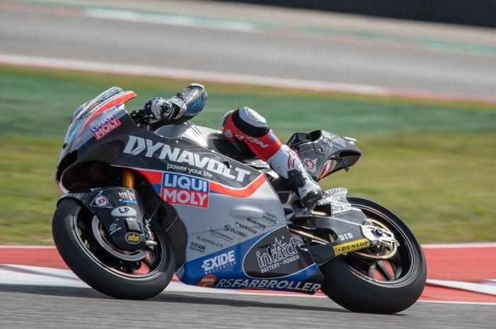Marcel Schrotter rajai FP2 Moto2 Spanyol 2019
