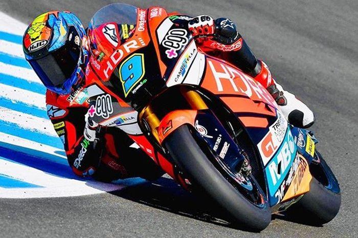 Jorge Navarro meraih pole position Moto2 Spanyol 2019
