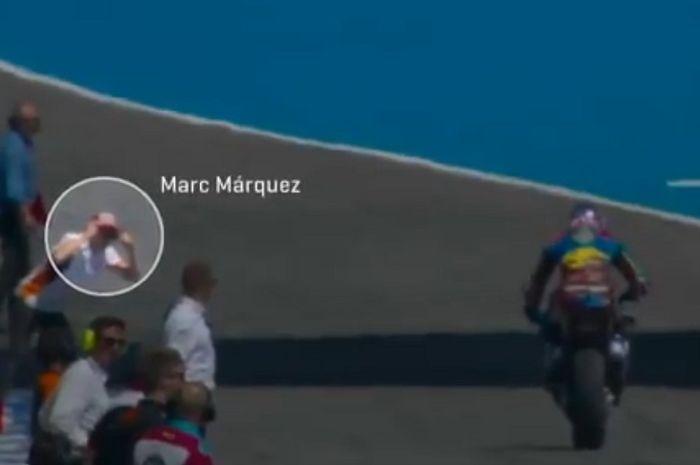 Marc Marquez beri masukan ke adiknya untuk tetap tenang dan fokus