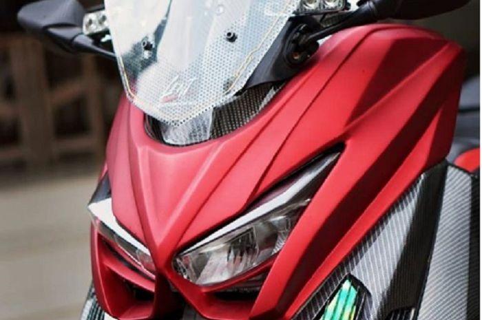 Tampang baru Yamaha NMAX garapan rumah modifikasi Lent.