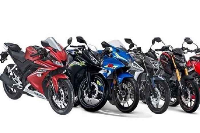 Motor sport 150 cc baru.