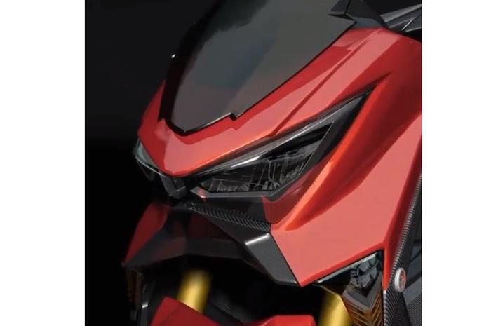 Tampilan rendering Yamaha NMAX Facelift 2019
