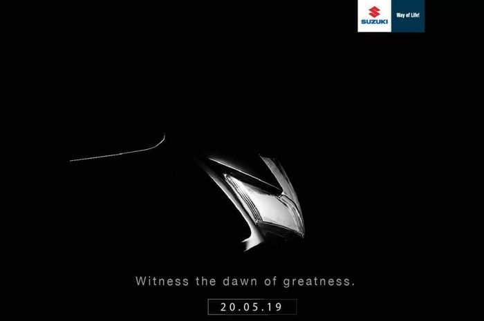 Teaser yang dirilis Suzuki