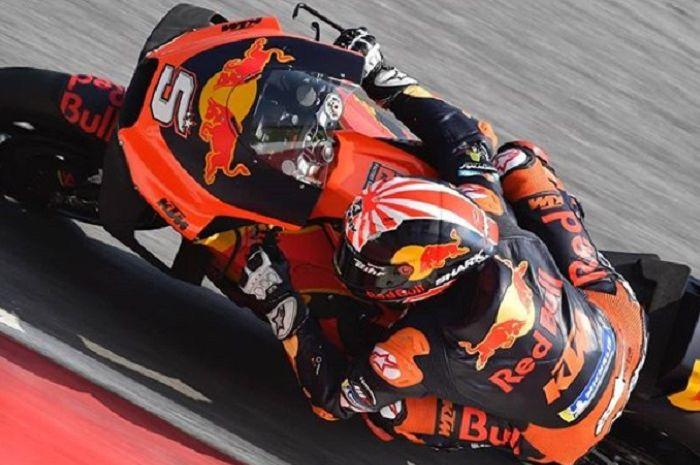 Johann Zarco tampil bagus di FP1 MotoGP Prancis.
