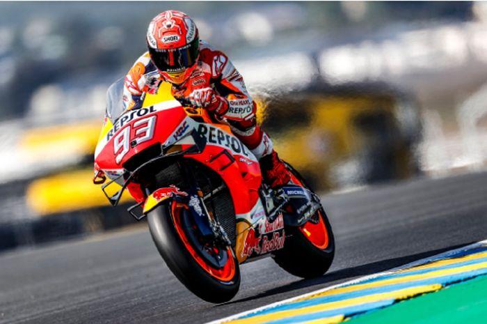 Marc Marquez jadi yang tercepat di kualifikasi MotoGP Prancis 2019