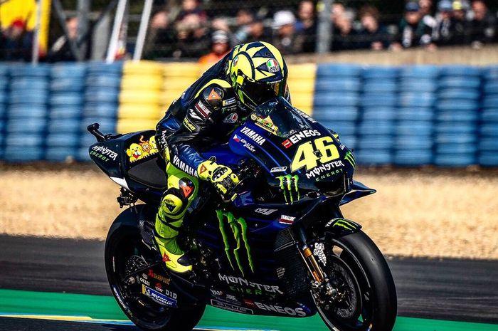 Valentino Rossi bisa finish posisi 10 di FP3 tapi hasil keseluruhan latihan resmi ada di posisi 14