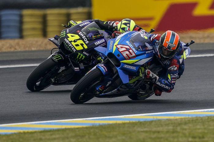 Alex Rins belajar dari Valentino Rossi untuk jadi Mr Sunday di raceday MotoGP Prancis 2019