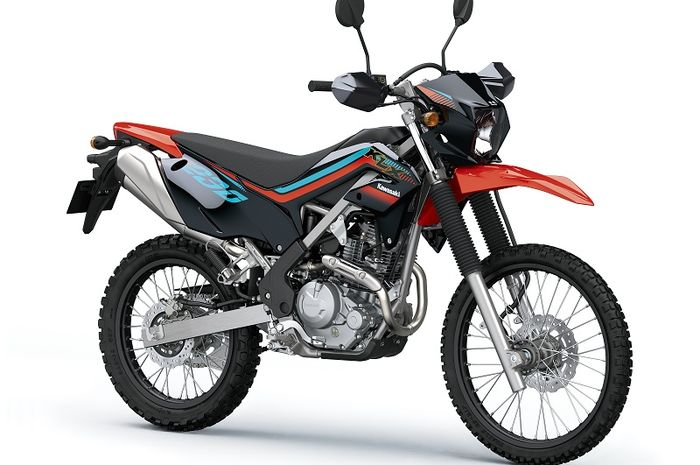 KLX230 Special Edition Firecracker Red