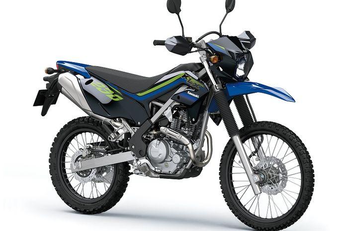 KLX230 Special Edition Oriental Blue