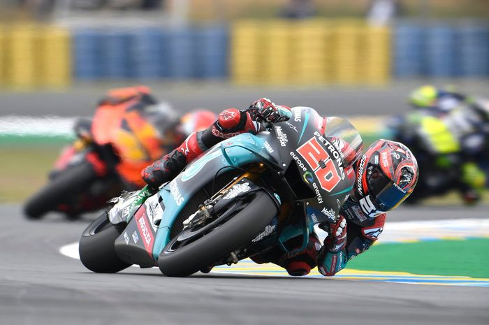 Fabio Quartararo makin mantap bertakhta di klasemen pembalap Rookie Of The Year MotoGP musim ini
