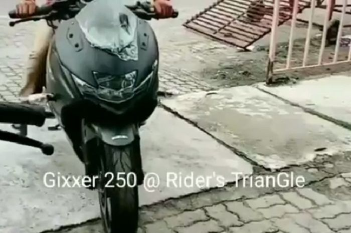 Beredar video Suzuki Gixxer SF 250