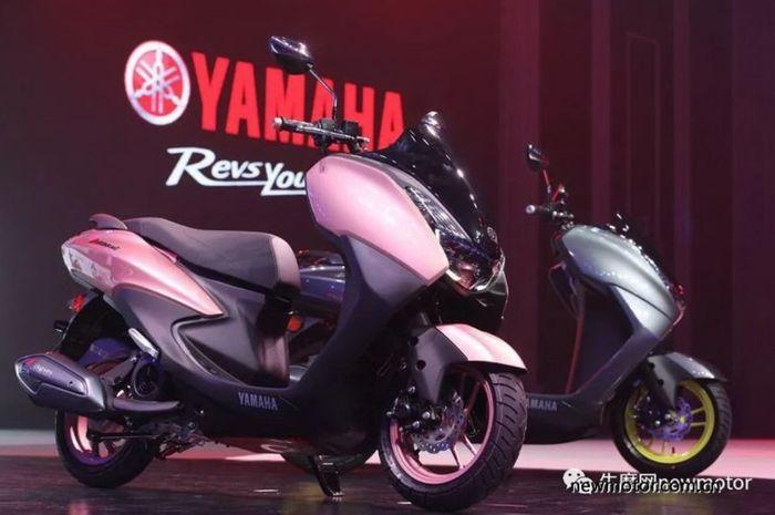 Yamaha New Avenue 125 dibekali dek yang rata