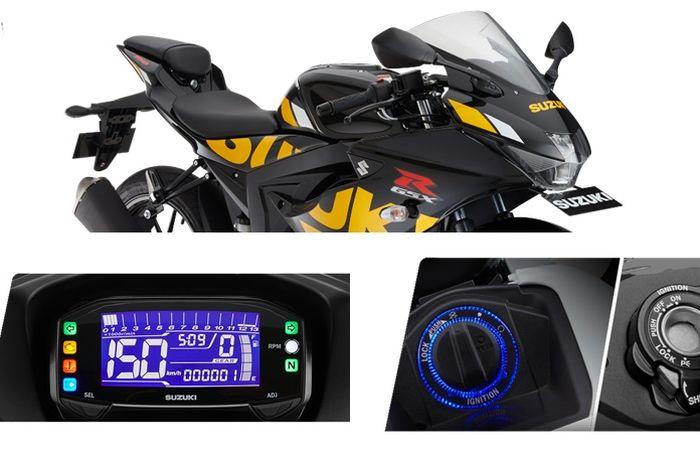 Suzuki GSX-R150 warna baru dan fitur masa kini