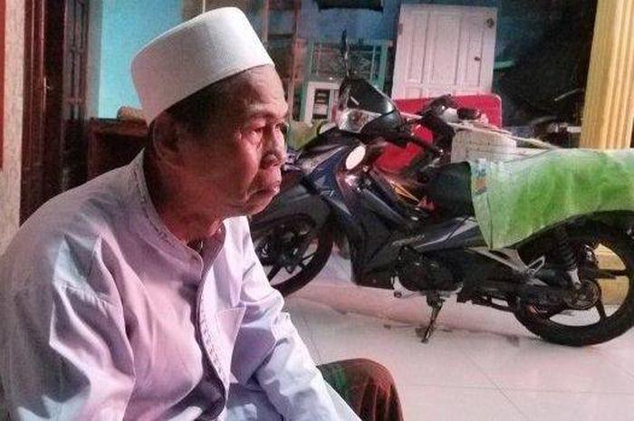Haji Usman Sanusi Ketua RT 04  sekaligus paman korban saat ditemui Rabu (22/5/2019).