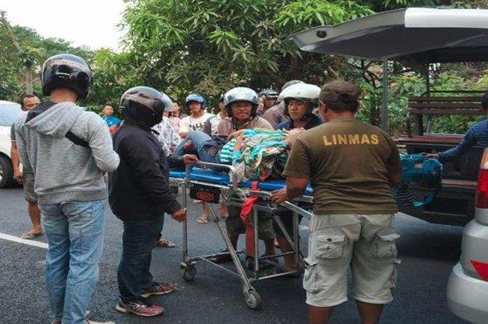 Kecelakaan berujung maut menewaskan seorang ibu di Kabupaten Tulungagung, Jawa Timur