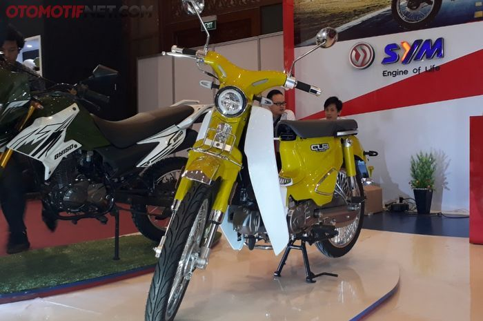 SM Sport, merek Malaysia perkenalkan Cub Classic 110 cc di IMOS 2018