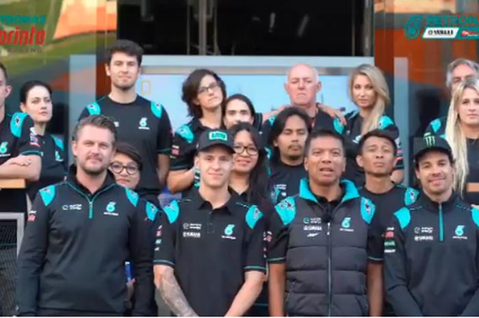 Ucapan selamat hari raya idul fitri dari tim Petronas SIC MotoGP