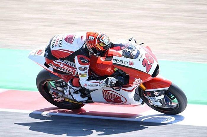 Dimas Ekky Pratama melesat di Moto2 Catalunya 2019