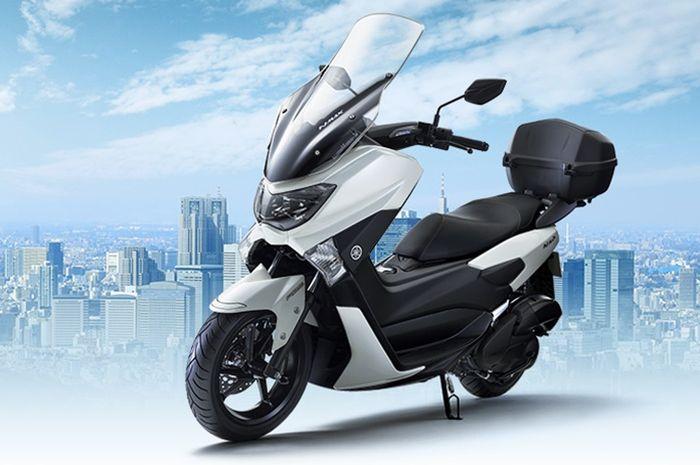Yamaha NMAX Comfort 125 warna White Metallic