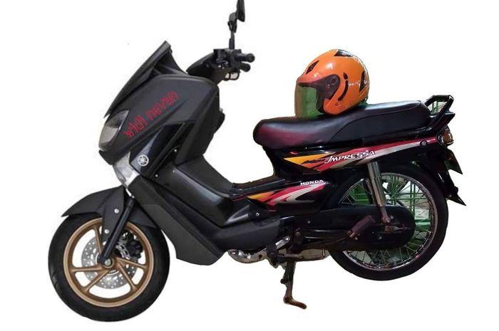 GRAND MAX hasil kolaborasi Honda Grand an Yamaha NMAX, foto ini diposting akun Diday
