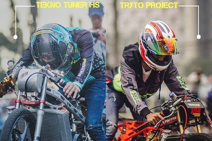 Duel partai Tekno Tuner vs Tryto Project
