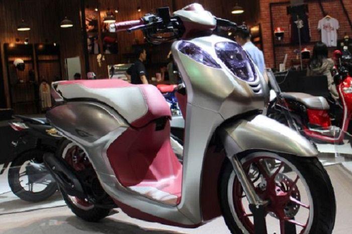 Honda Scoopy 150 atau Honda Project G.