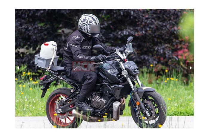 Motor yang diduga merupakan lansiran Yamaha