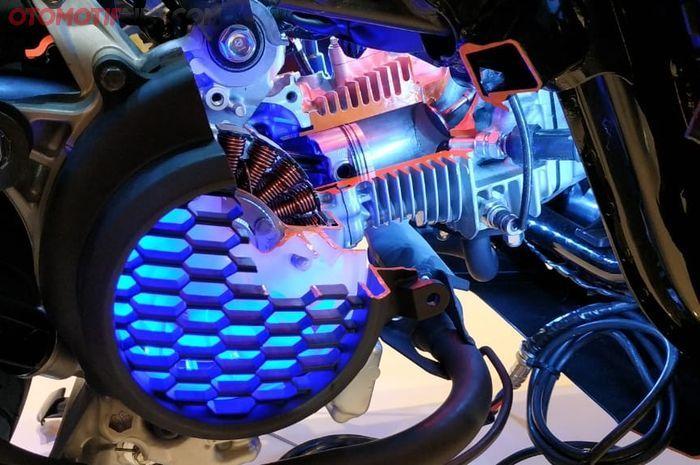 Mesin benar-benar baru beda dengan dur pacu Honda BeAT dan Scoopy