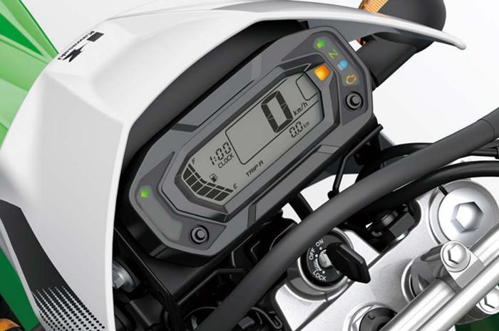 Speedometer Kawasaki KLX230 model digital
