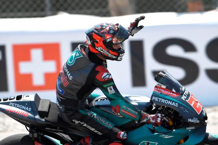 Fabio Quartararo pasang target memenangkan gelar rookie of the year di MotoGP 2019