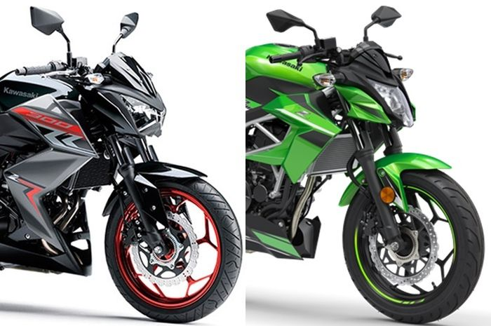 Kawasaki Z250 dan Z250SL discontinued di Indonesia