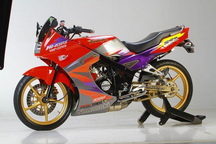 Modifikasi Kawasaki Ninja 150 RR ala SSR
