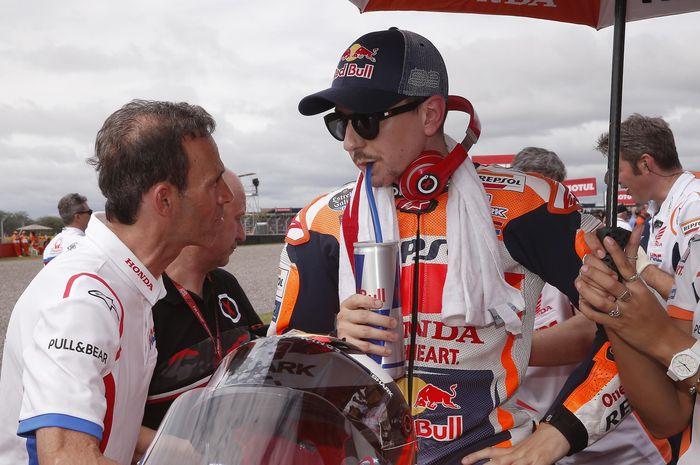 Alberto Puig dan Jorge Lorenzo
