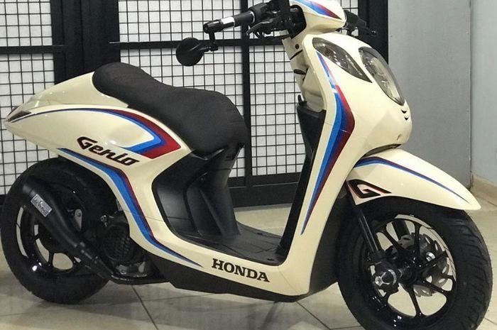Honda Genio dimodif cafe racer.