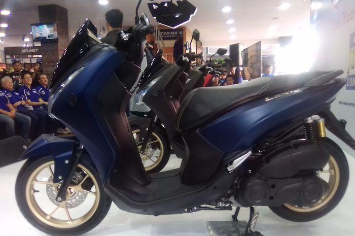 Yamaha Lexi terbaru mengusung konsep Maxi Signature diluncurkan Yamaha Inodnesia di Kemayoran, (29/6/2019)