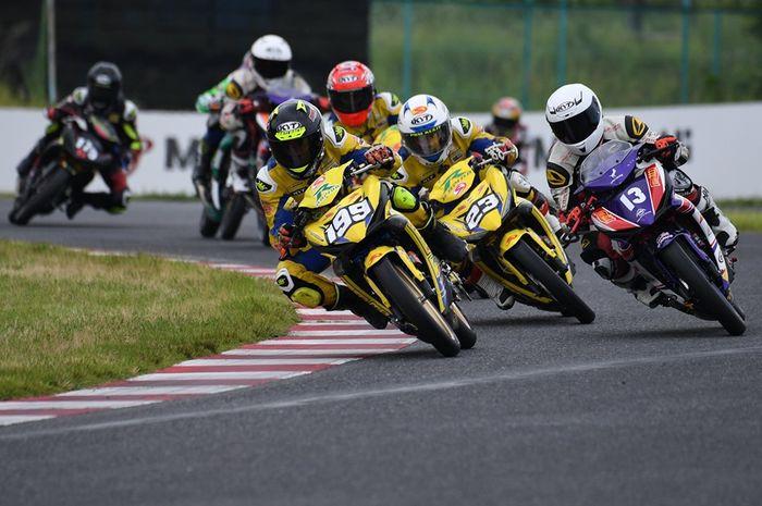 Duet pembalap SND Factory Racing Rapido berkuasa di UB150 ARRC Jepang Race 1