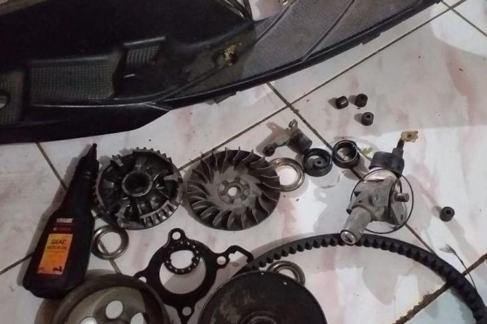 Kok Mahal Ya Biaya Servis Motor Matic Yamaha Rp 3 Juta Bos
