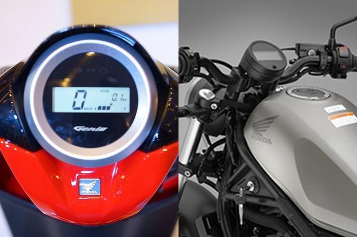 Speedometer Honda Genio mirip moge Honda