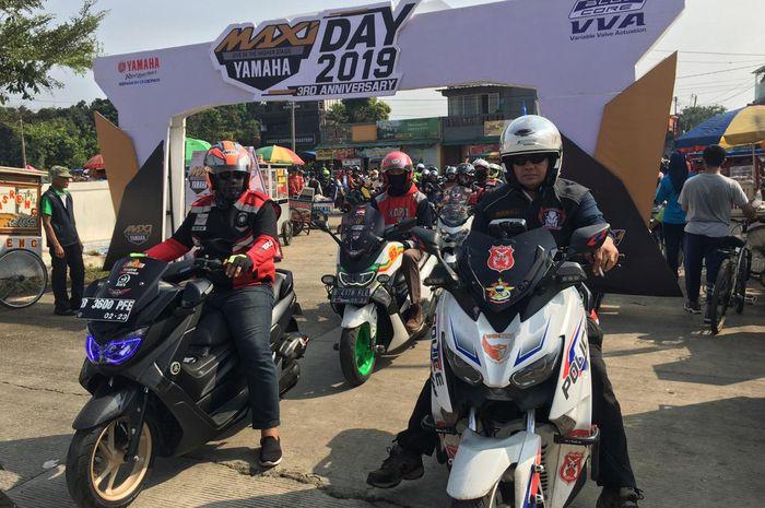 Pengguna Maxi Yamaha berkumpul di Maxi Yamaha Day 2019
