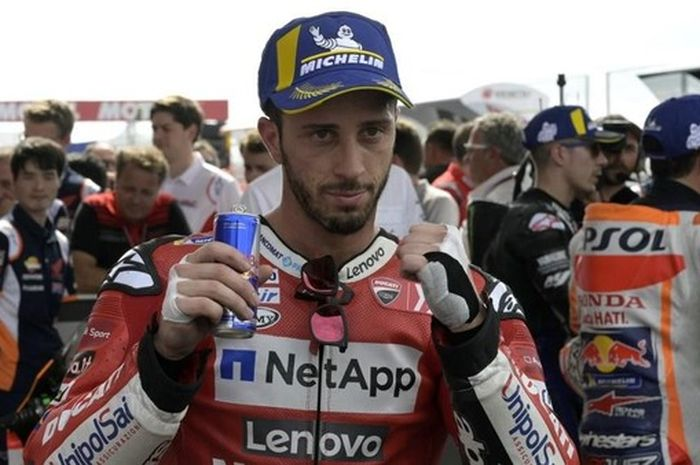 Andrea Dovizioso tetap optimis untuk MotoGP Jerman