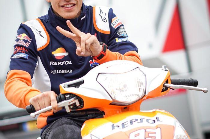 Marc Marquez incar kemenangan 10 kali beruntun di MotoGP Jerman akhir pekan ini