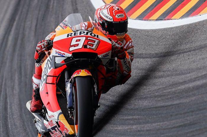 Marc Marquez FP MotoGP Jerman 2019